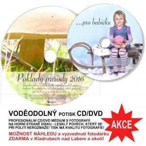 VODĚODOLNÝ POTISK CD/DVD