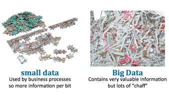 Big vs small data