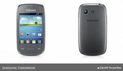 سامسونج تعلن عن Galaxy Star و Galaxy Pocket Neo 3
