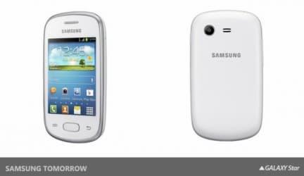 سامسونج تعلن عن Galaxy Star و Galaxy Pocket Neo 1