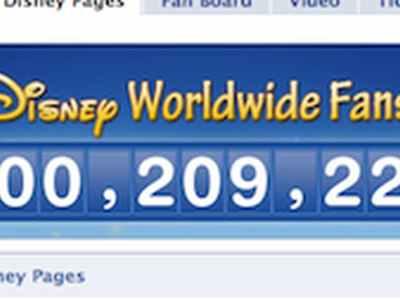 صفحة ديزنى على الفيسبوك تتجاوز 100 مليون معجب! (فيديو) 1