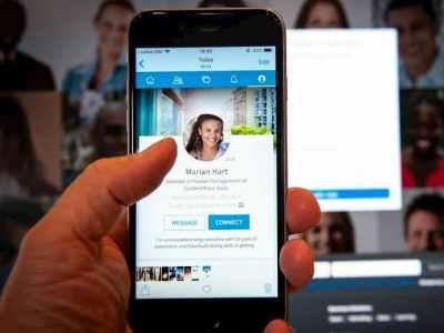 موقع LinkedIn يطلق زر المشاركة 1