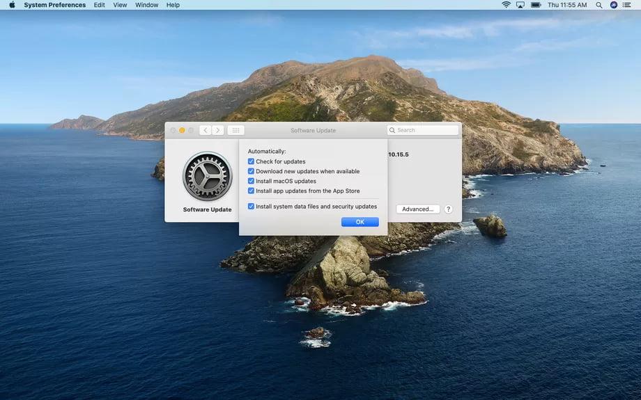 كيفية إدارة تحديثات التطبيقات في macOS 3