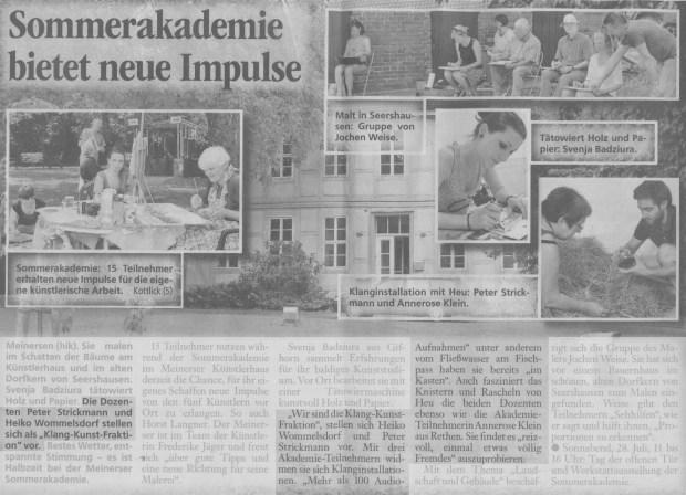 Aller-Zeitung 27.07.2012