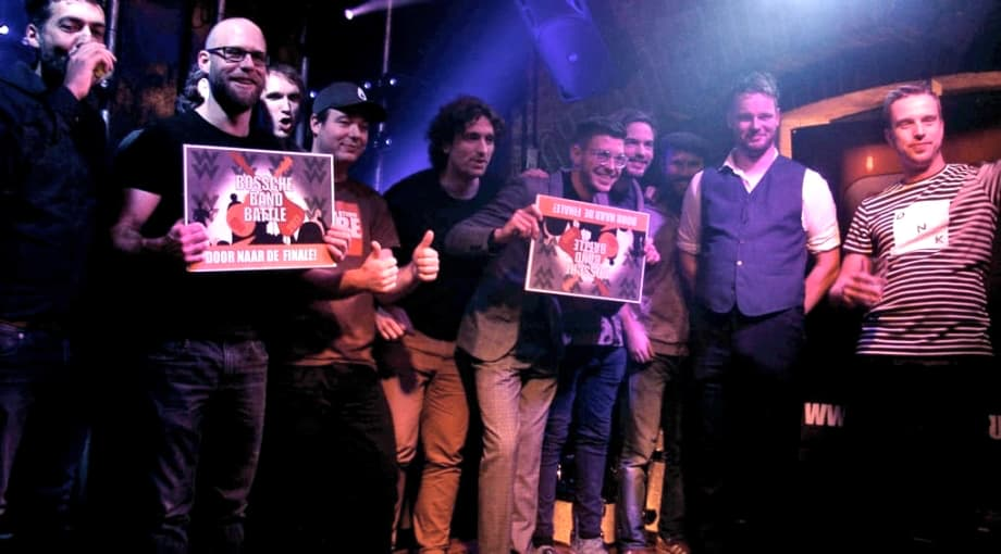 Bands halve finale Bossche Band Battle gaan er vol in