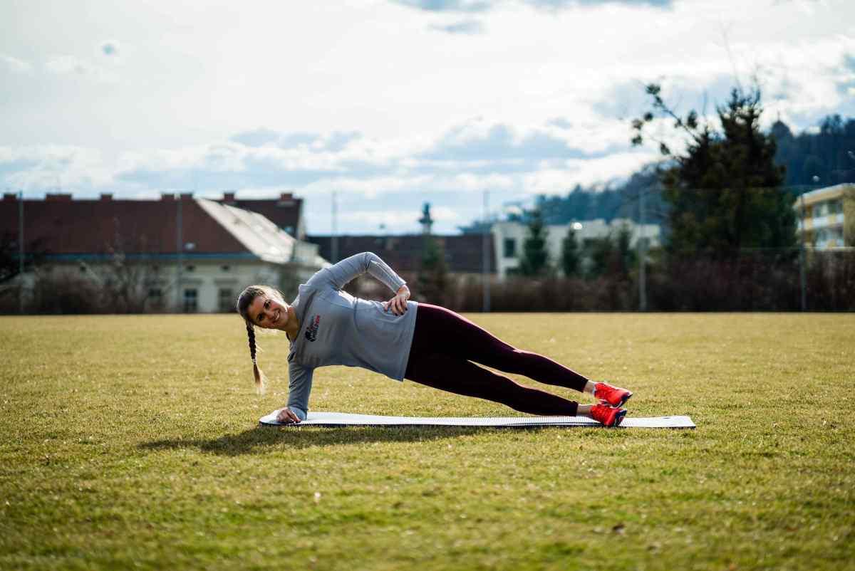 Rumpfstabilität für Läufer / Kräftigung Bauch, Rücken, Rumpf