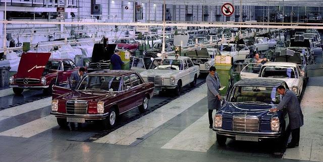 W114  W115 Mercedes-Benz Tarihçesi