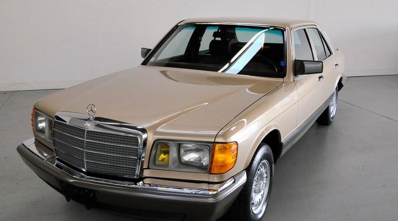 2510 Kilometrede! 1982 Mercedes-Benz W126 300SD USA Versiyon