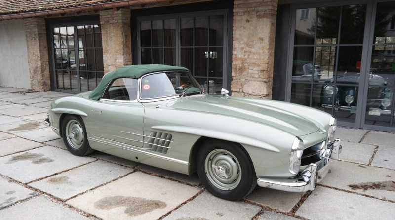 Clark Gable'in 1957 Mercedes-Benz 300 SL Roadster'i