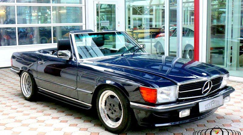 3.400 Km.de! 1986 Mercedes-Benz R107 560SL 6.0 AMG Dünya'da Üç Tane Var!