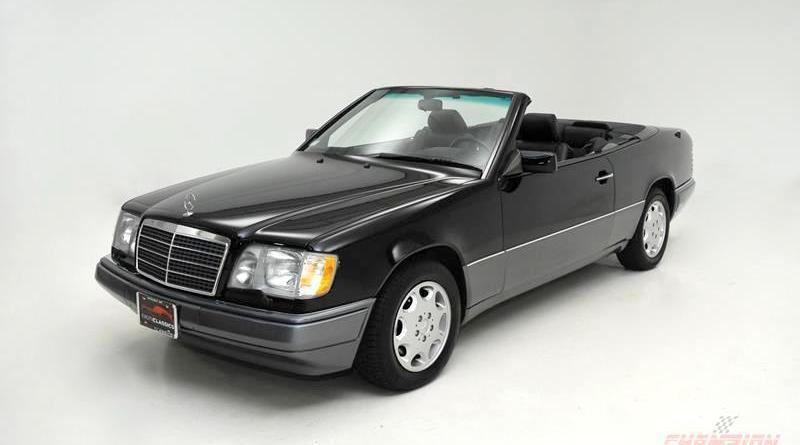 6 Bin'de! Mercedes-Benz A124 Cabriolet E320