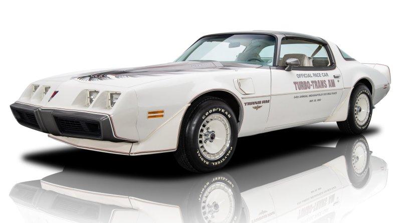 Boyasız Sadece 260 Milde! 1980 Pontiac Firebird Trans Am Pace Car Satılık*