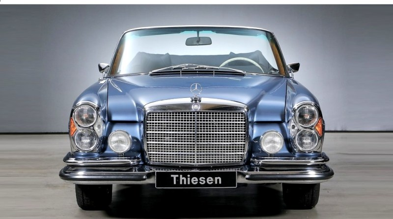 1971 Mercedes-Benz W111 Cabrio 280SE 3.5 Satılık*