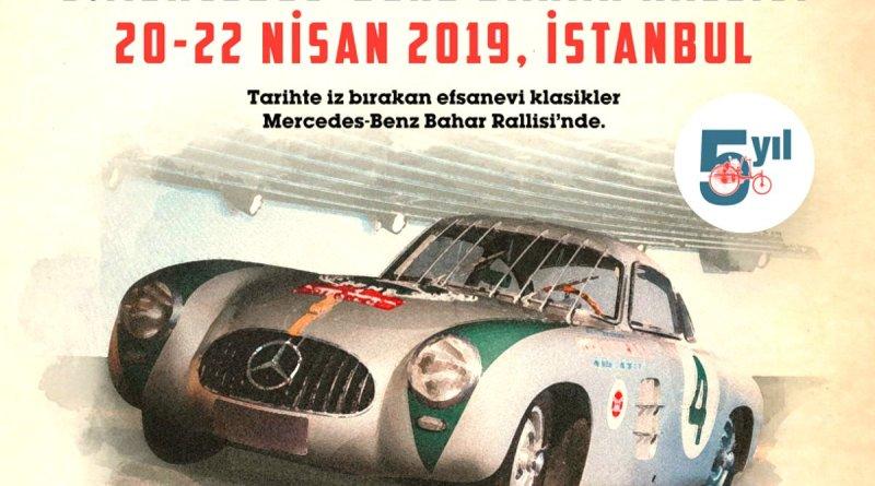 5. Mercedes-Benz Bahar Rallisi 20-22 Nisan'da Başlıyor