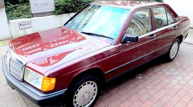462 Km.de! Satılık W201 Mercedes-Benz 190E 2.3