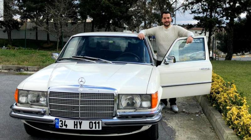 Sancaktar'dan W116 Mercedes-Benz Restorasyonu