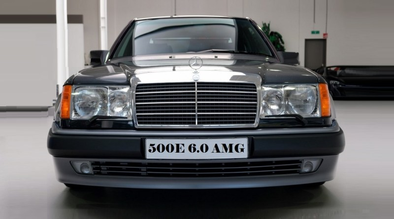 Mercedes-Benz 500E 6.0 AMG W124 381 Hp.
