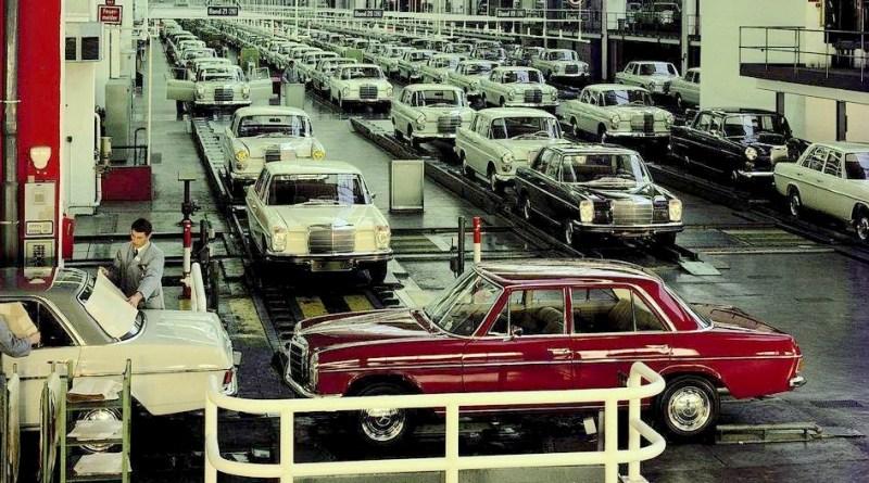 W114 / W115 Mercedes-Benz Boya Kodları ve Örnekleri