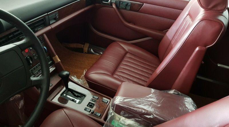 46 Km.deki! 1986 W126 Mercedes-Benz 560 SEL 150 Bin Euro