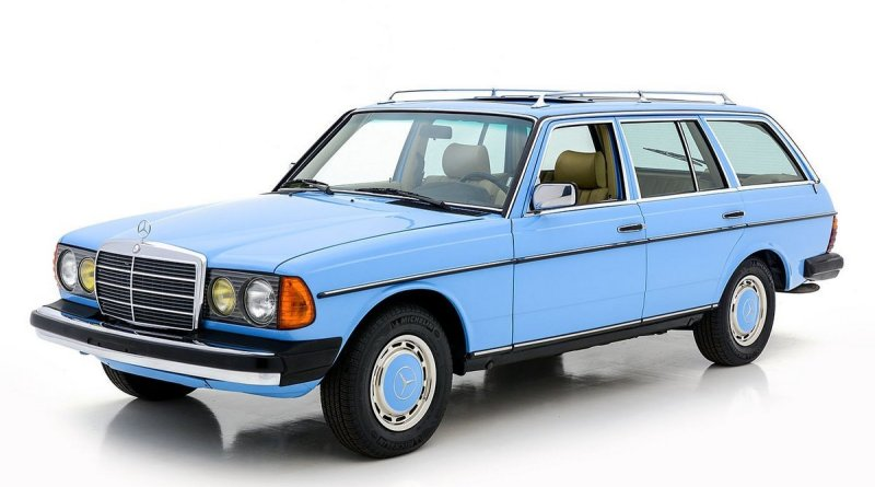 İlk Turbo Dizel W123 Mercedes-Benz 300TD SW