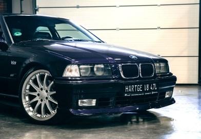 Ezber Bozan E36 BMW Hartge V8 4.7L. 350 Hp.