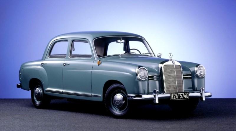 Mercedes-Benz W120 W121 Ponton Tarihçesi