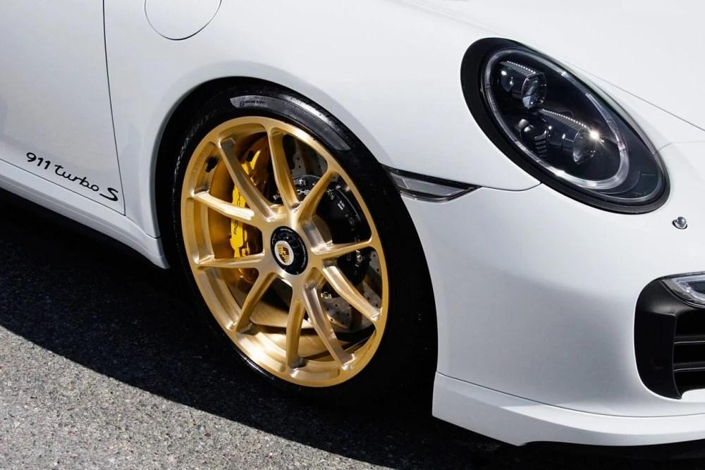 Porsche 991 Turbo S | KlasseniD Wheels MS03 Brushed Gold