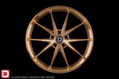 klassen klassenid wheels rim customs forged monoblock concave lightweight track sport brushed bronze five spoke split