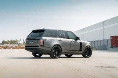 Range Rover HSE KlasseniD Wheels M53R Matte Black Face Gloss Black Windows 4