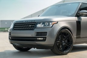 Range Rover HSE KlasseniD Wheels M53R Matte Black Face Gloss Black Windows 9