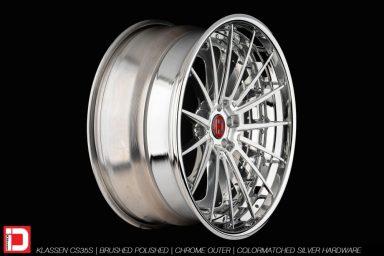 klassen klassenid wheels rims custom concave forged three piece 21inch 21in brushed polished chrome lip hardware mercedes benz s63 amg