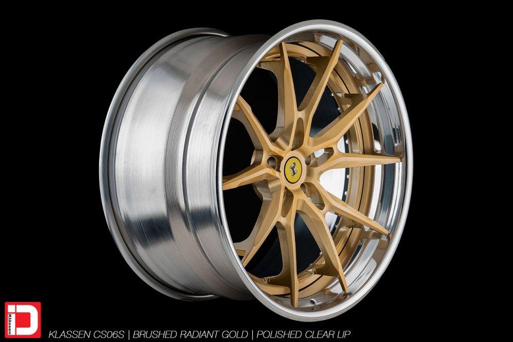 KlasseniD Wheels | CS06S Brushed Radiant Gold