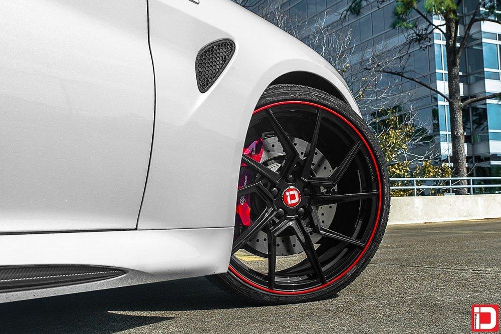 Alfa Romeo Giulia Quadrifoglio | KlasseniD Wheels M56R Gloss Black