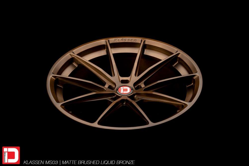 KlasseniD Wheels – MS03 Matte Brushed Abyss Blue
