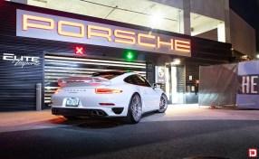 white porsche 991 911 carrera turbo klassenid wheels klassen id cs35s custom forged concave forged polished face chrome lip hardware