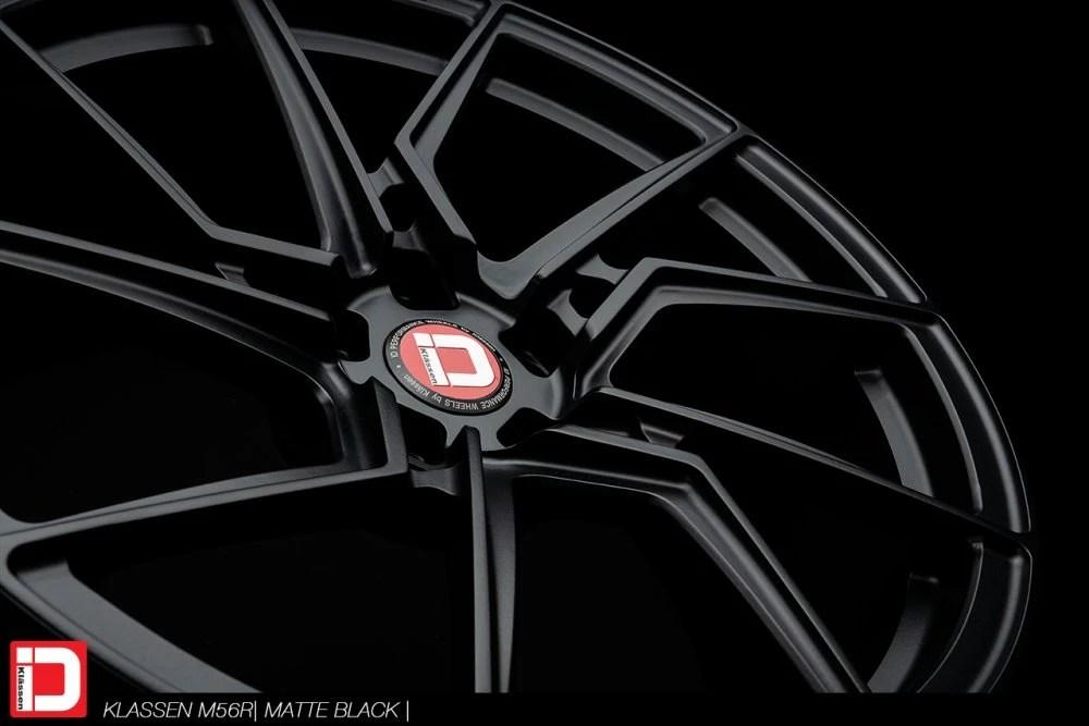 KlasseniD Wheels M56R Monoblock Forged – Matte Black
