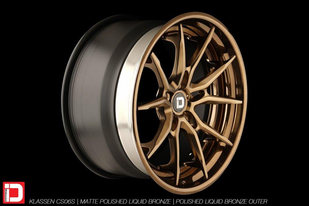 KlasseniD Wheels | CS06S Matte Polished Liquid Bronze