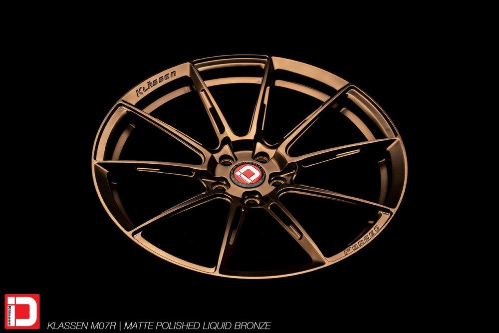KlasseniD Wheels – M07R Matte Polished Liquid Bronze