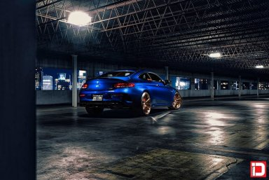 Mercedes-Benz C63S AMG - KlasseniD Wheels M07R Matte Polished Liquid Bronze