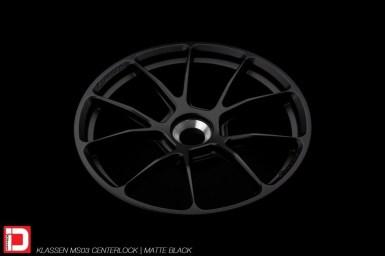 klassen klassenid wheels ms03 centerlock matte black custom concave forged monoblock bespoke rims porsche 911 991 991.2 996 997 carrera turbo turbos 4s