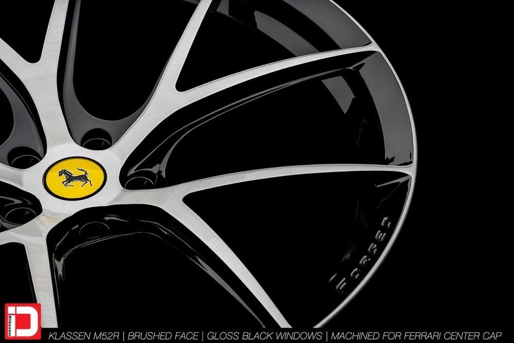 KlasseniD Wheels M52R – Brushed with Gloss Black Windows 13