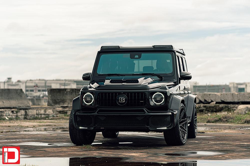 AG MC Black Brabus Wide G Wagon 2