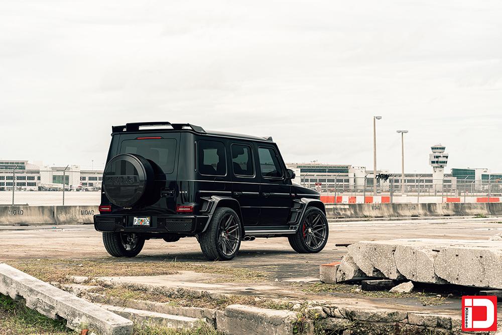 AG MC Black Brabus Wide G Wagon 34