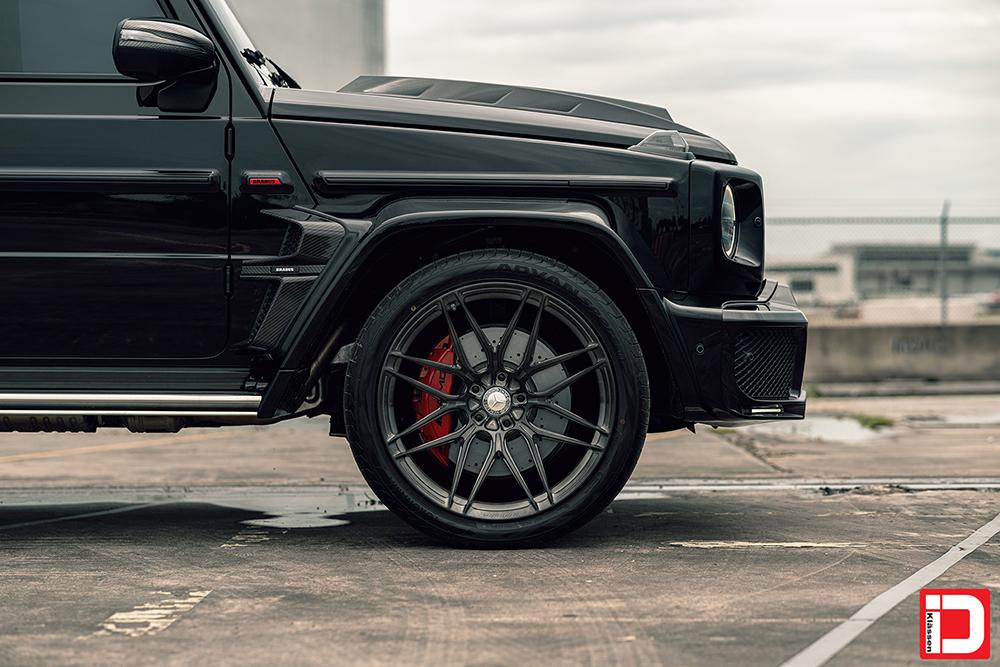 AG MC Black Brabus Wide G Wagon 39
