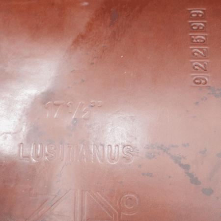 Lusitanus sadel fra Zaldi. WE sadel