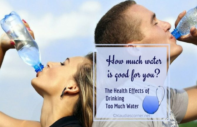 The Effects of Drinking Too Much Water - When Drinking Water Causes More Harm Than Good!