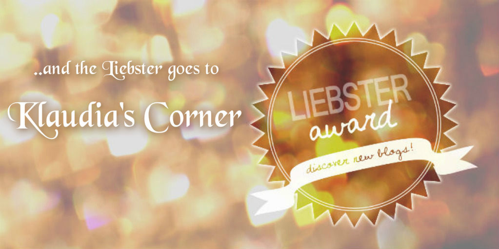 And the Liebster Blog Award goes to