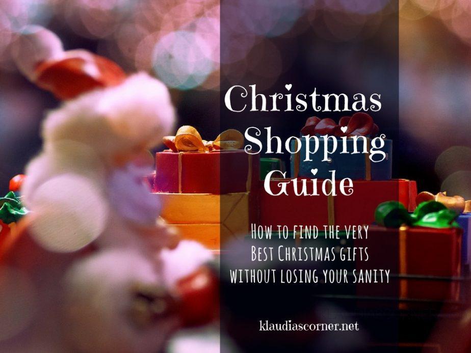 How to find the very best Christmas presents - klaudiascorner.net©