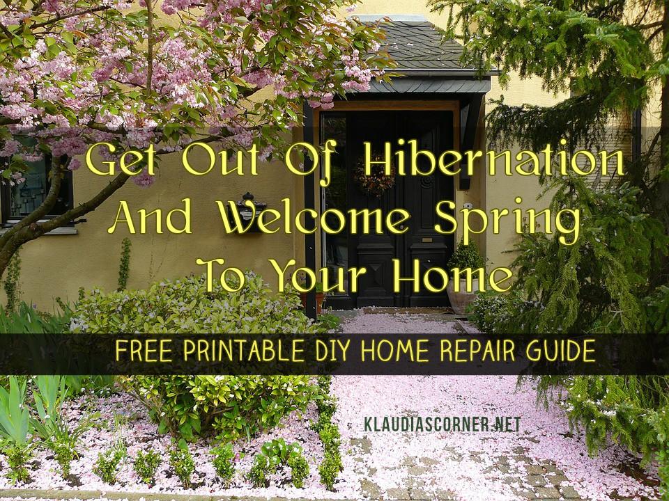 Home Fix Checklist
