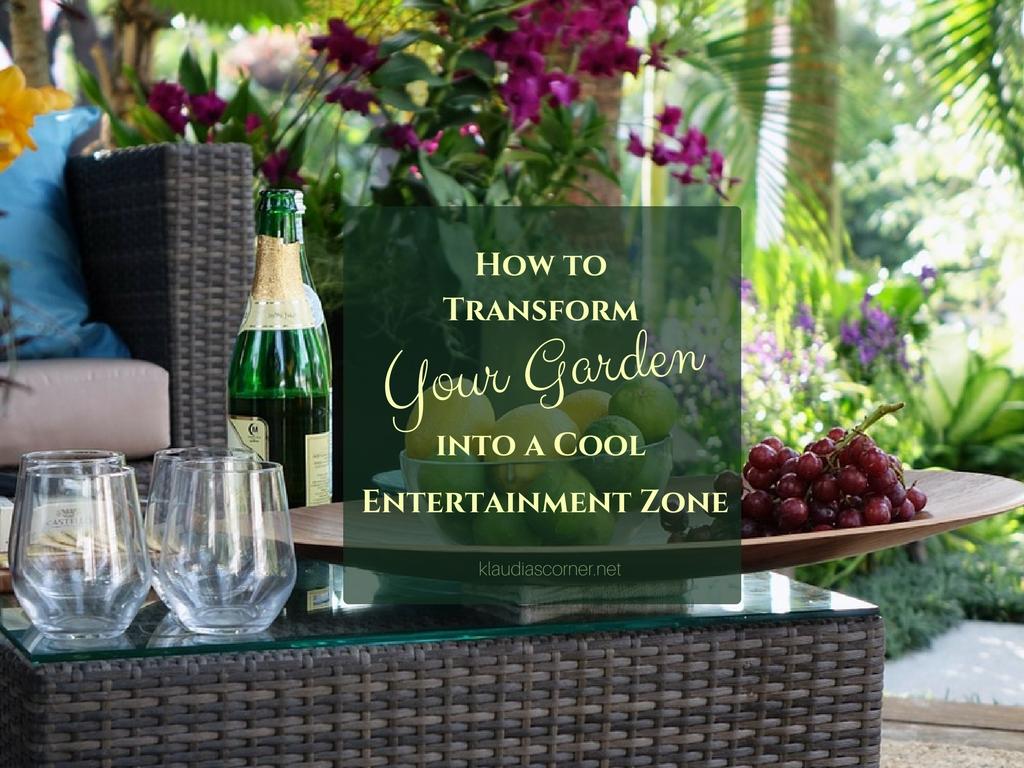 Garden Landscaping Ideas - How to Transform Your Garden Into a Cool Entertainment Zone